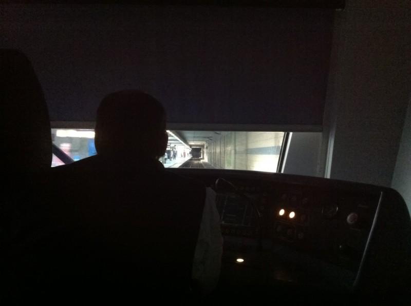 Das Licht in der Mitte des Tunnels