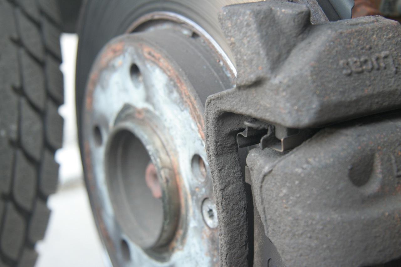 Bremsscheibe und Bremsbacke